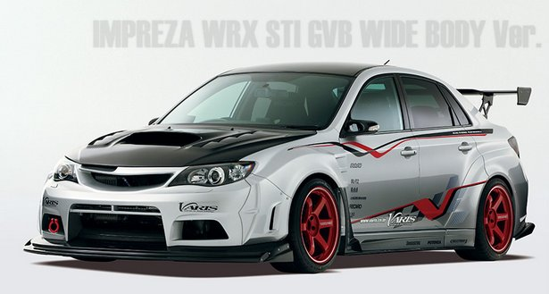 Subaru Outback Size Comparison >> Subaru Cars - Tuning: Varis WRX STi wide body kit