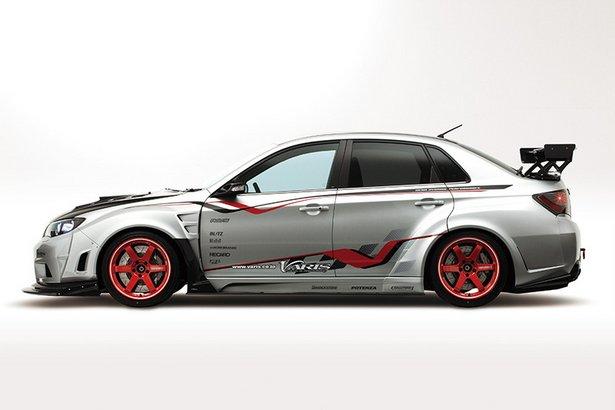 Santa Cruz Subaru >> Subaru Impreza WRX STI 4-Door Wide Body Version with Varis ...