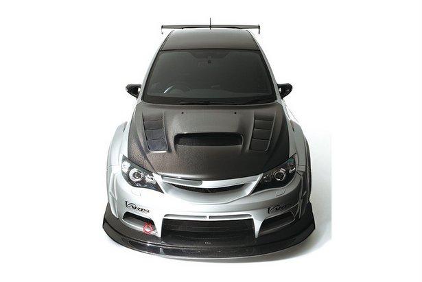Extended Rear Facing >> Subaru Cars - Tuning: Varis WRX STi wide body kit