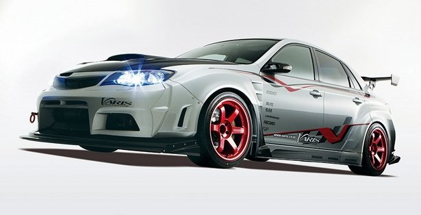 Subaru Cars Tuning Varis Wrx Sti Wide Body Kit