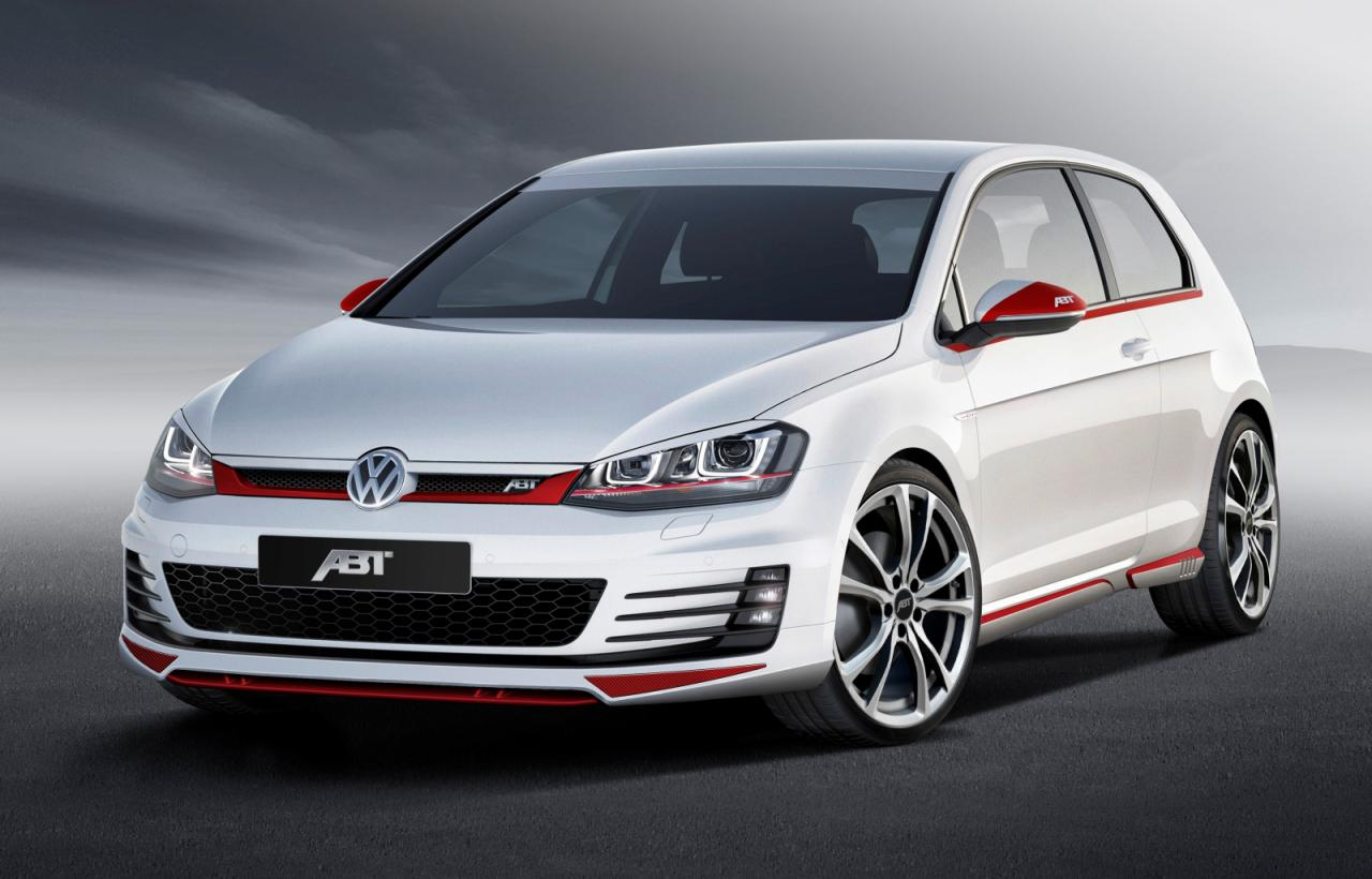 Volkswagen Cars - News: ABT tuned Mk7 VW Golf GTI
