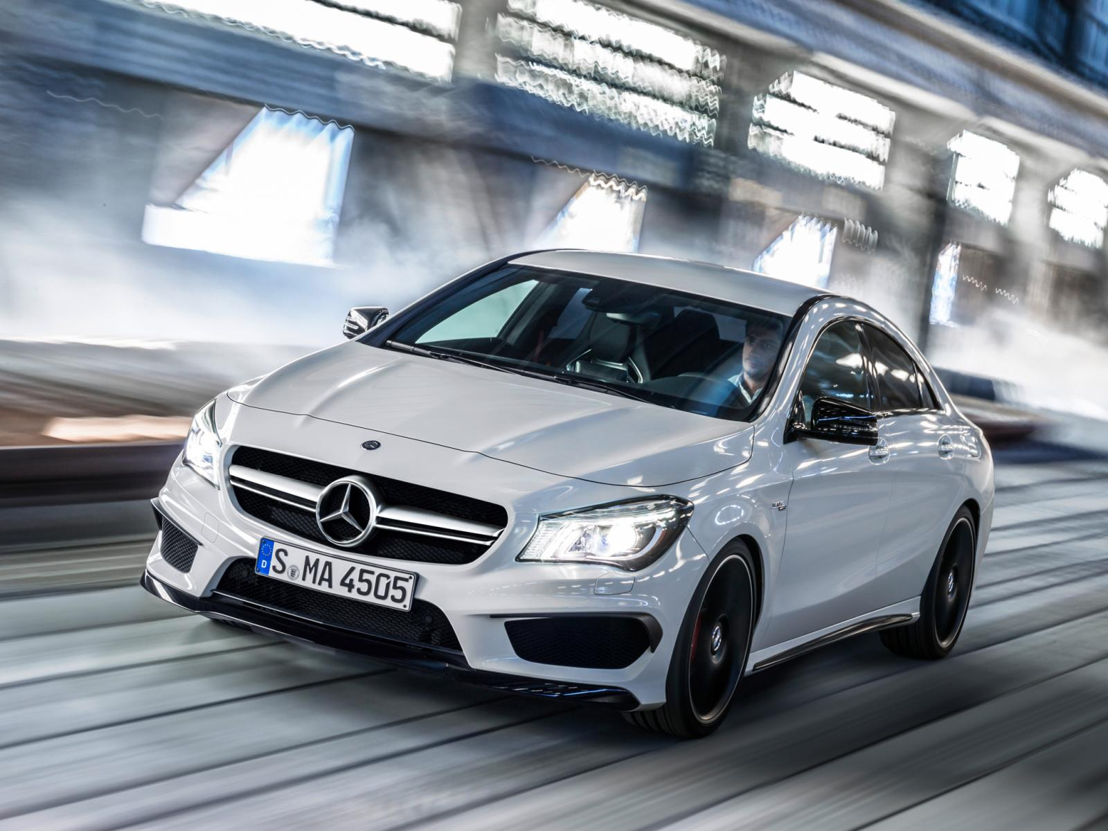 Mercedes Benz Cla 45 Amg Revealed Ahead Of New York Debut