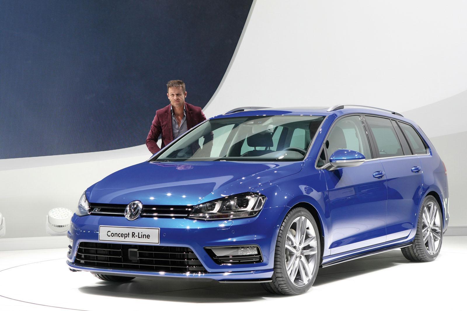 Volkswagen Cars News Mk7 Golf Wagon R Line Concept