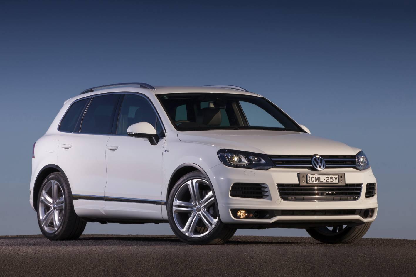 Volkswagen Cars - News: 2013 Touareg V8 TDI R-Line on sale