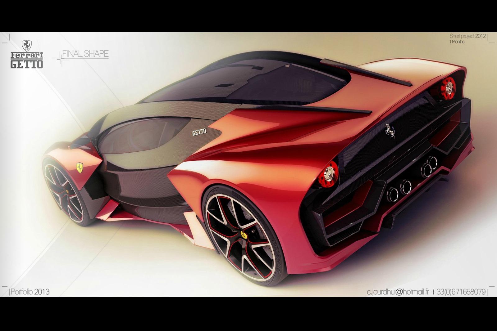 Ferrari Getto Design Concept
