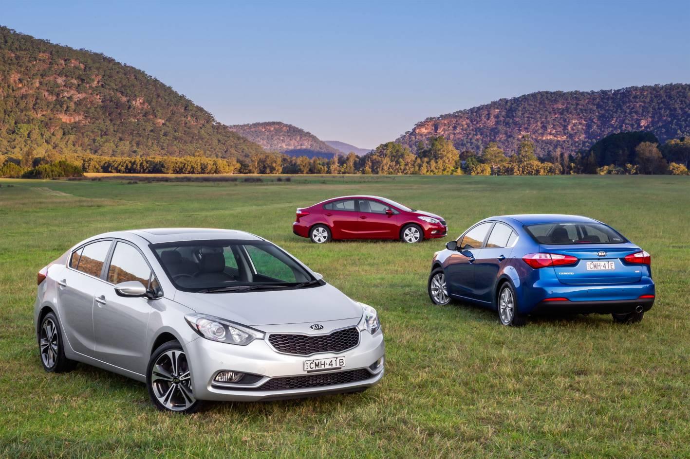 Kia Cars - News: Cerato Sedan on sale now from $19,990
