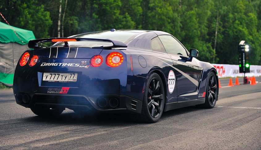 Nissan Tuning: AMS GT-R Alpha 12+ does 0-100km/h in 13s