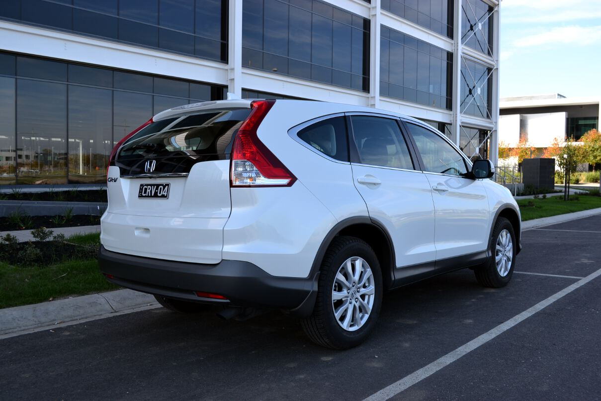 Honda CR-V Review: 2013 VTi