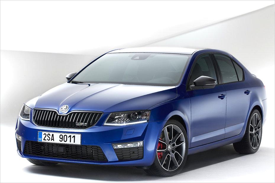 skoda cars news  octavia rs revealed