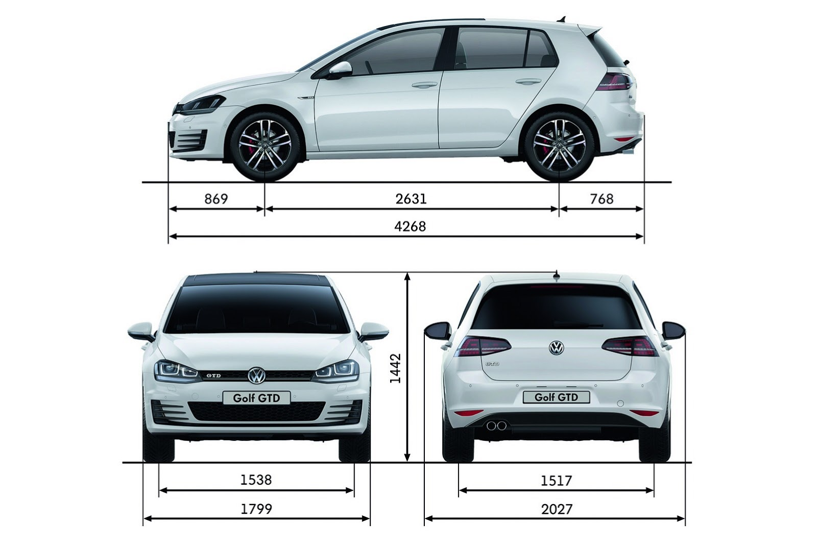 Golf Mk7 R >> 2013-volkswagen-golf-mk7-gtd-photo-19 - ForceGT.com