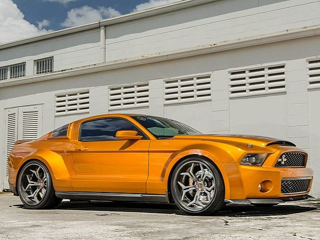 Ford Cars - News: Mustang Shelby GT500 Super Snake