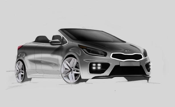 kia pro cee u0026 39 d gt cabrio concept digitally imagined