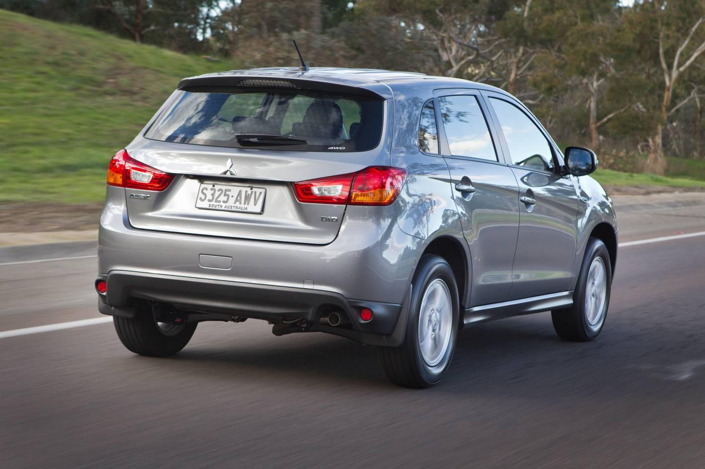 Diesel Exhaust Tip >> Mitsubishi ASX Review: 2013 4WD Diesel Auto