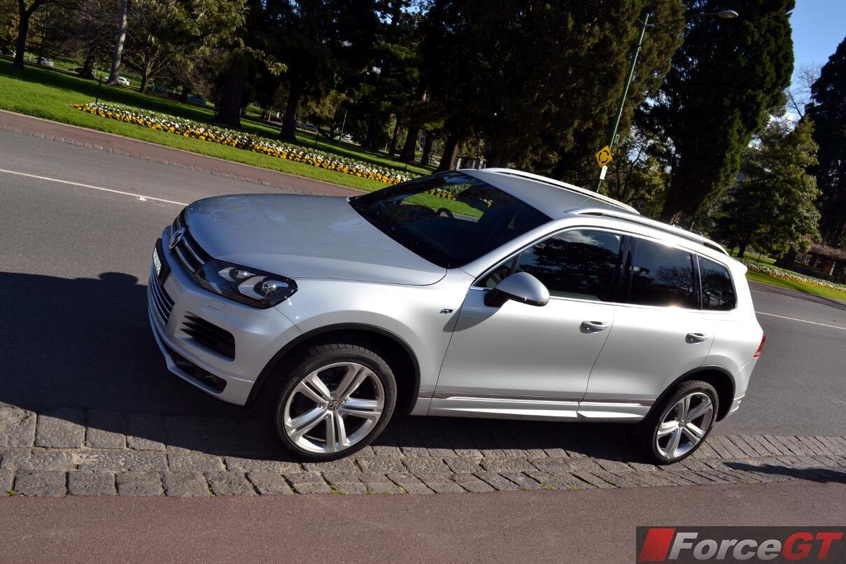 Volkswagen Touareg Review: 2013 R-Line