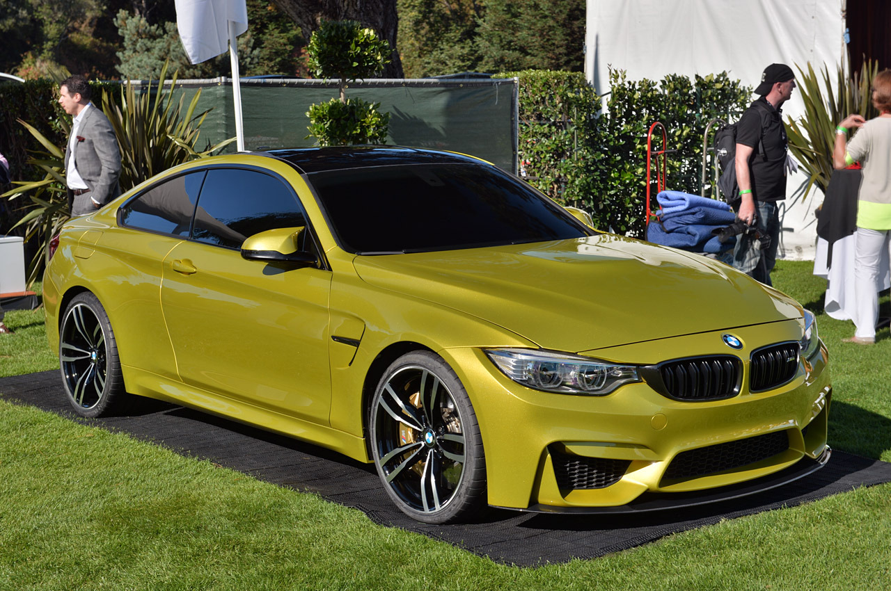 Bmw Concept M4 Coup 233 Launch Photos From Pebble Beach