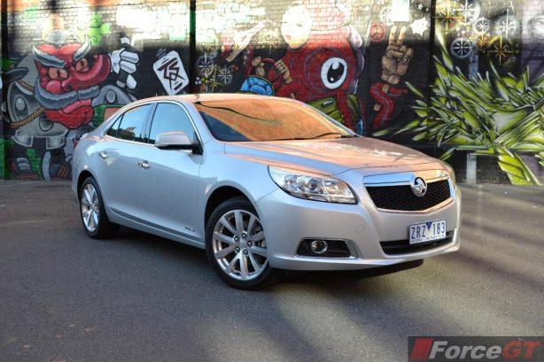2013 Holden Malibu CDX front quarter