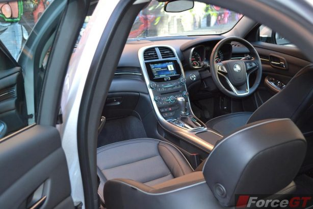 2013 Holden Malibu CDX interior