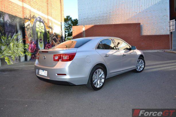 2013 Holden Malibu CDX rear quarter