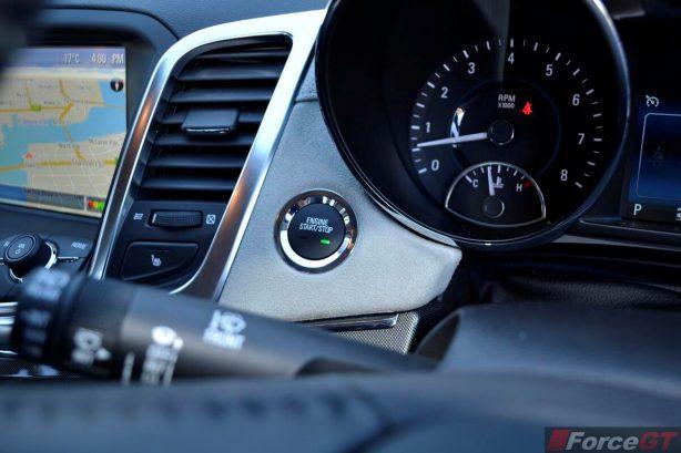 2013 Holden VF Commodore Calais V interior push button start