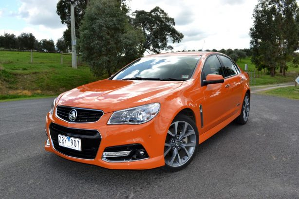 2013-Holden-VF-Commodore-SSV-Review-front-quarter