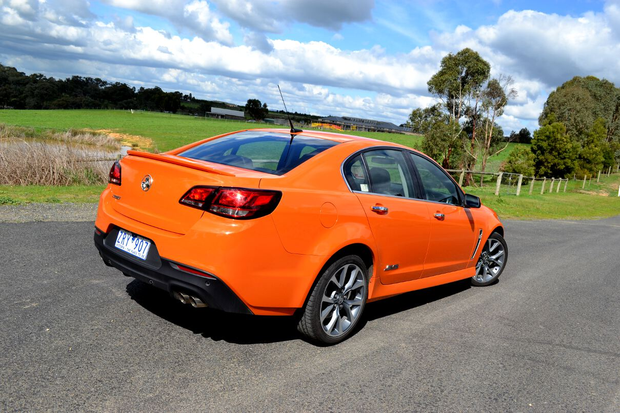 Holden Commodore Review: 2013 VF SSV