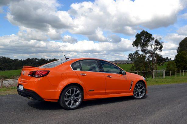 2013-Holden-VF-Commodore-SSV-Review-rear-quarter