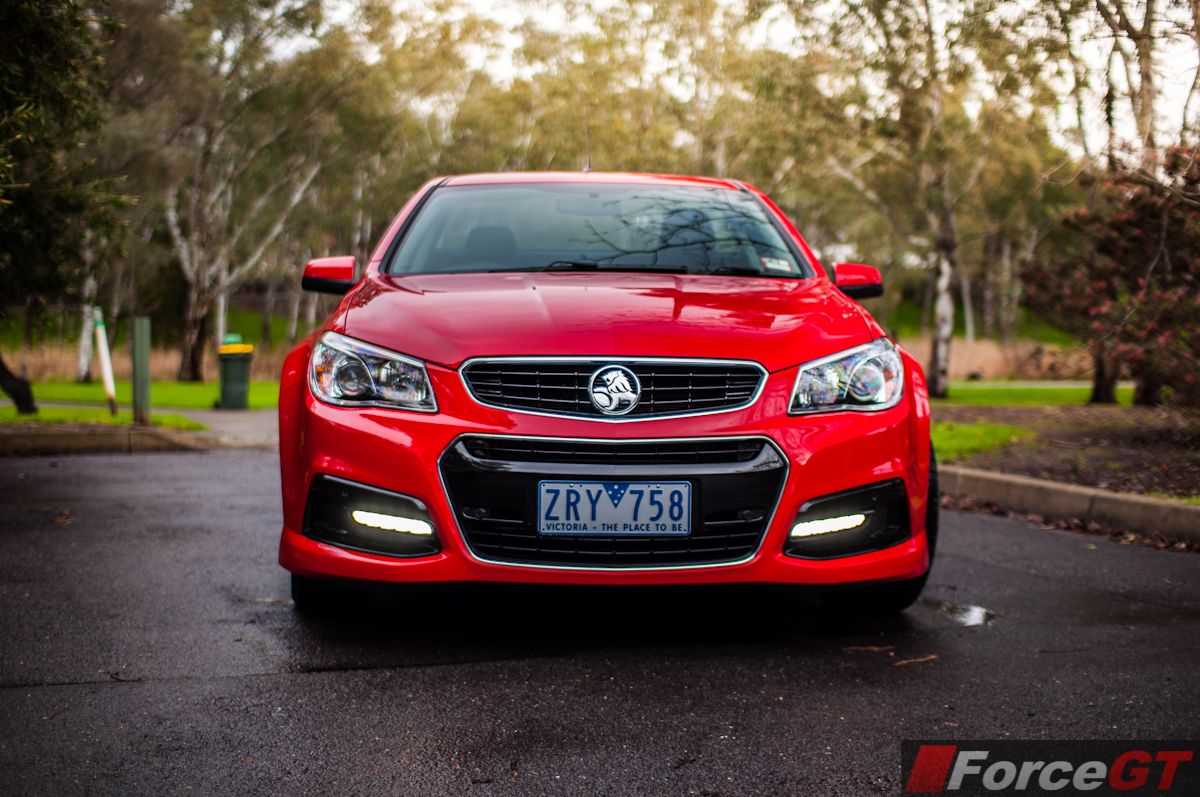 2013 Holden Vf Commodore Sv6 Ute Front Forcegt Com