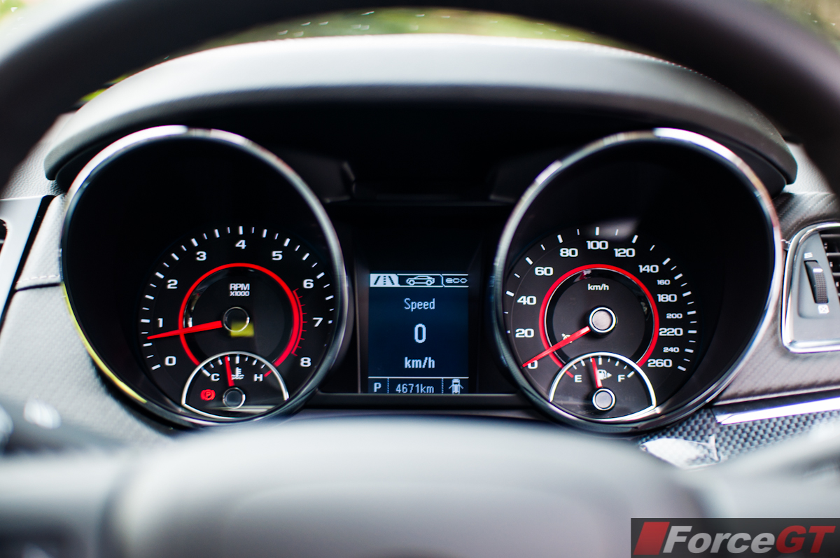 2013 Holden Vf Commodore Sv6 Ute Interior Instruments