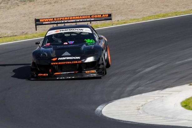 2013 SA Time Attack race car