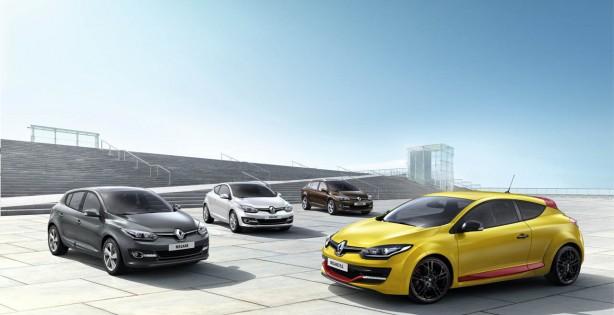 2014 Renault Megane range