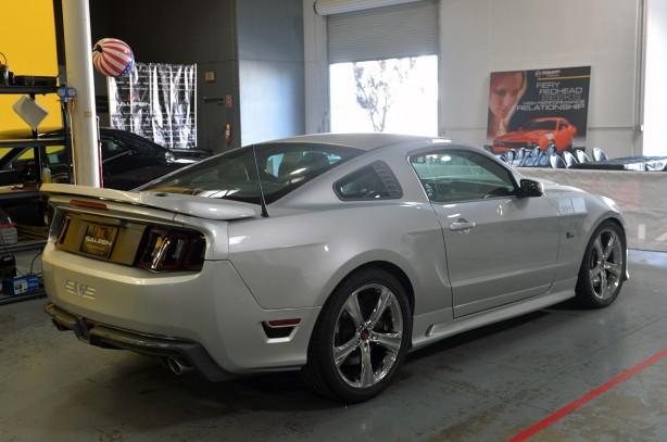 2014 Saleen 351 Mustang rear profile