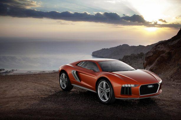 Audi Nanuk quattro crossover concept front  quarter
