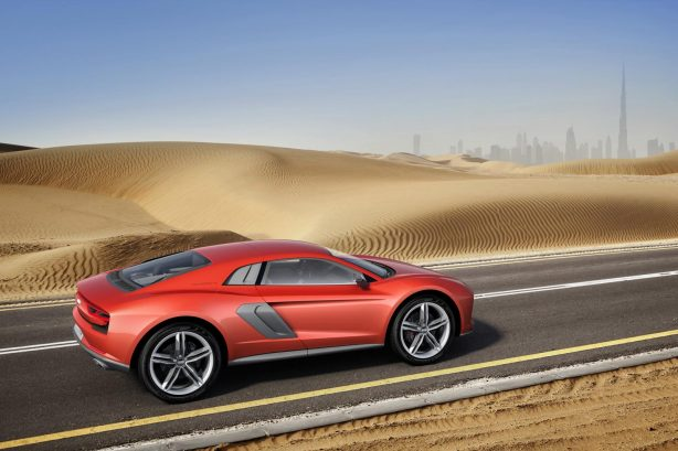 Audi Nanuk quattro crossover concept profile