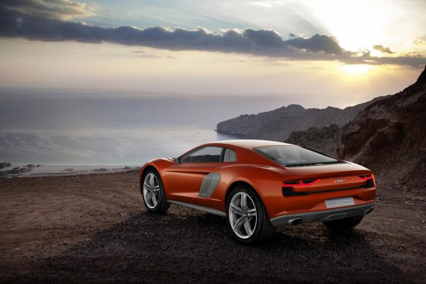 Audi Nanuk quattro crossover concept rear