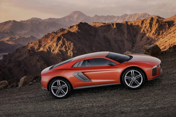 Audi Nanuk quattro crossover concept side
