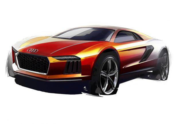Audi Nanuk quattro crossover concept sketch