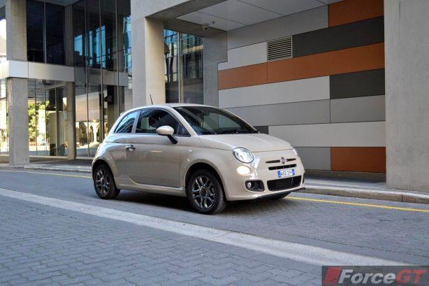 Fiat 500 Review-2013 Fiat 500 Sport front quarter