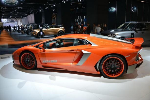 Hamann Lamborghini Aventador profile