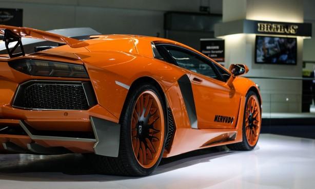 Hamann Lamborghini Aventador rear quarter