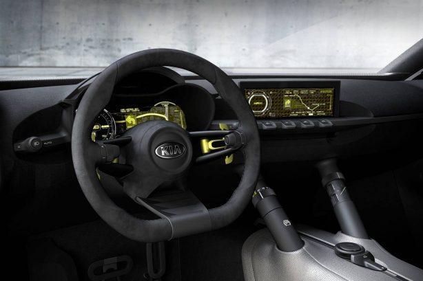 Kia Niro concept interior-1