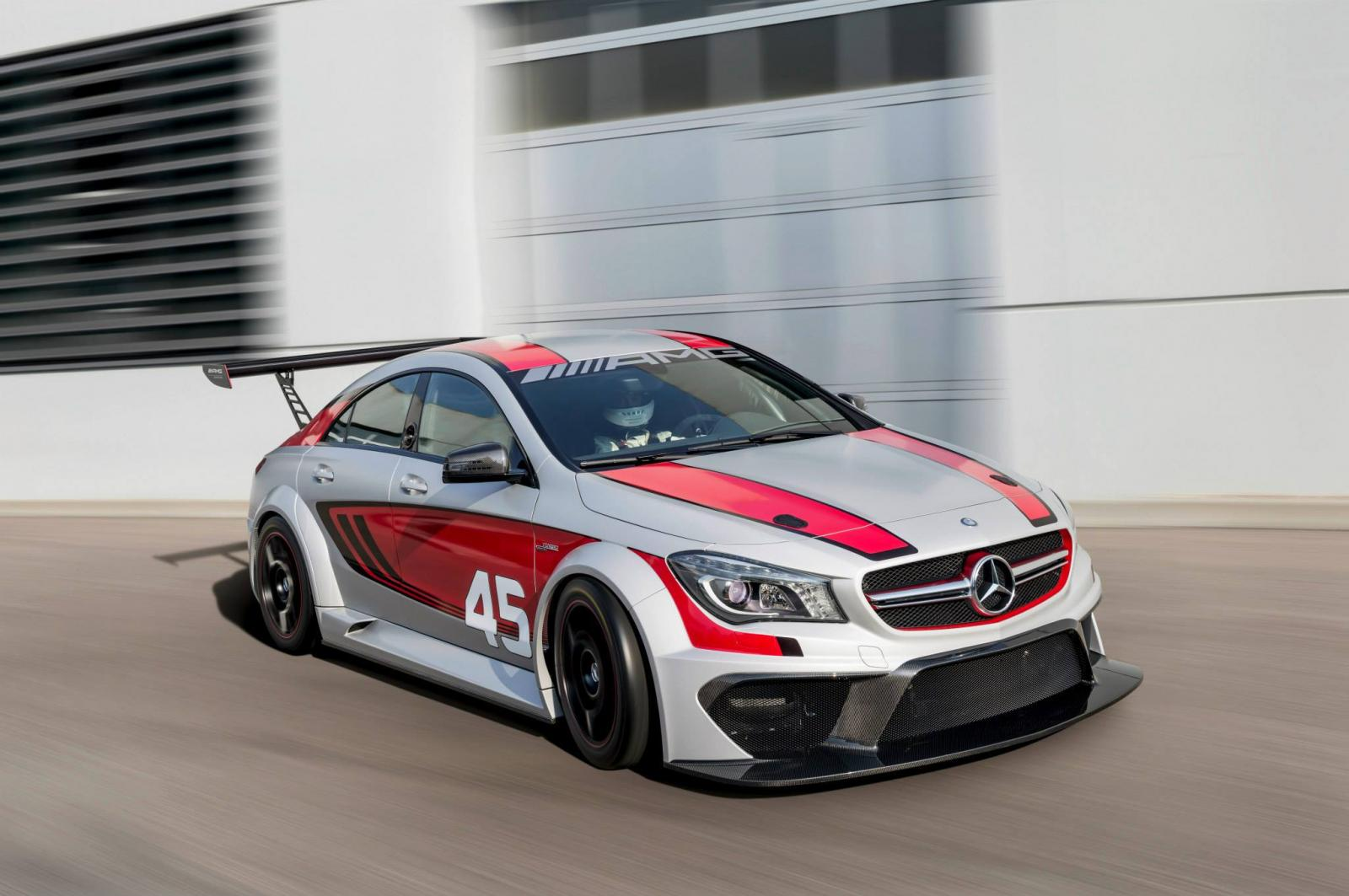 mercedes benz cla 45 amg racing series detailed. Black Bedroom Furniture Sets. Home Design Ideas