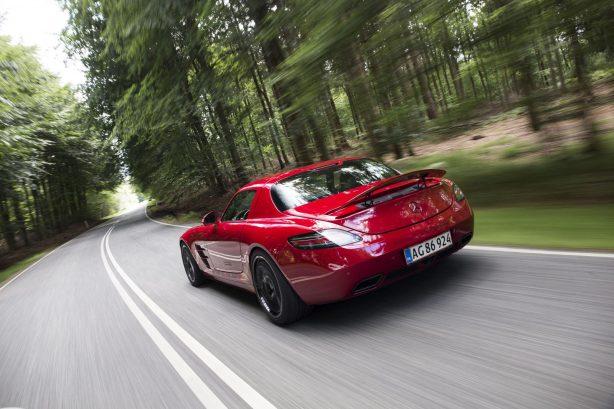 Mercedes-Benz SLS AMG tuned by Kleeman rear quarter
