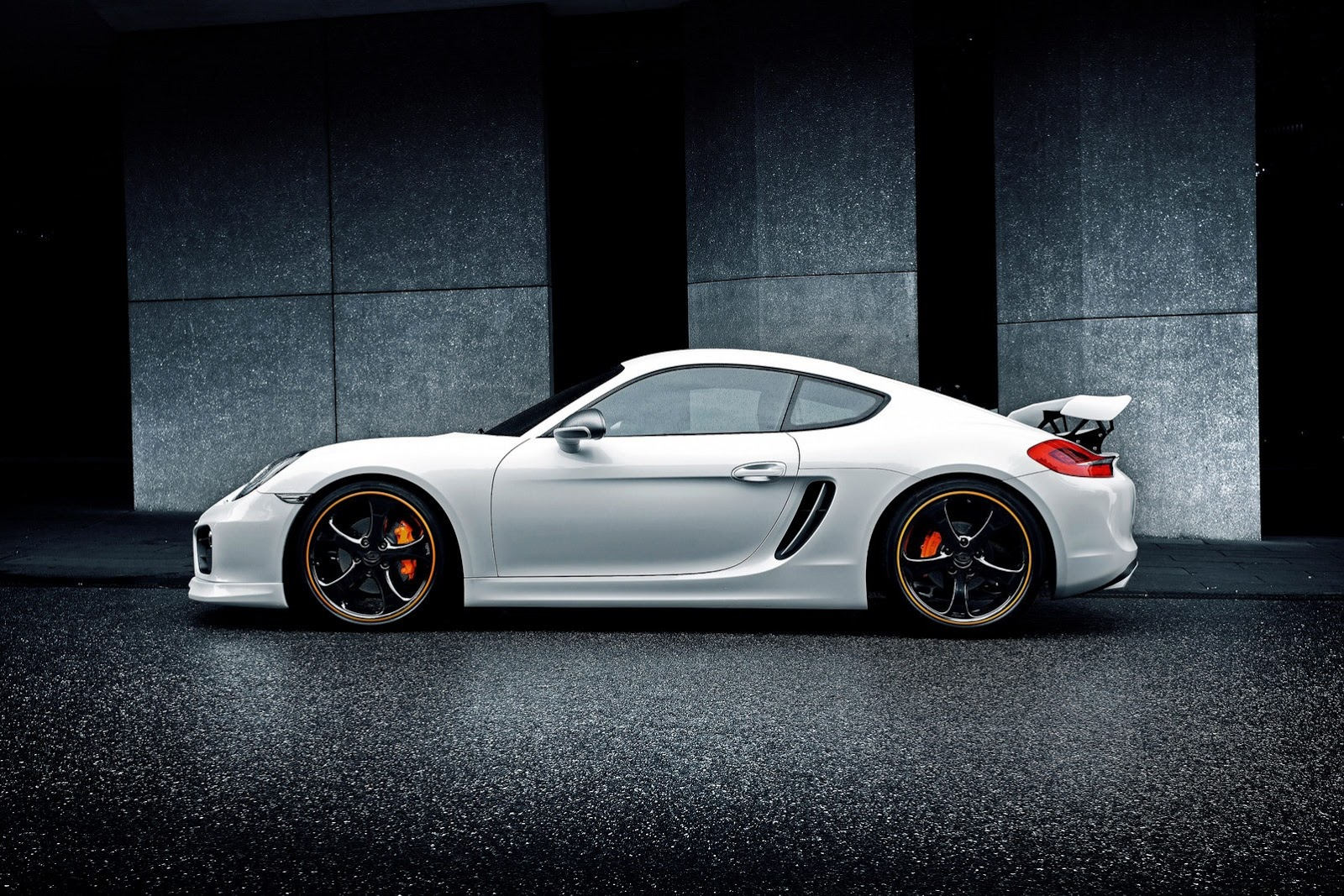 Tuned Porsche Techart Tuned Cayman
