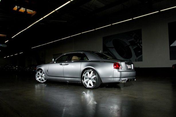 Vorsteiner customised Roll Royce Ghost side-2