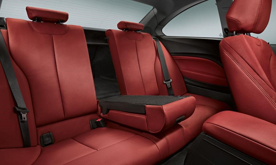 2014 BMW 2 Series Interior Backseat