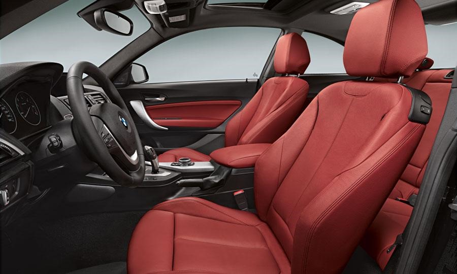 2014 BMW 2 Series Interior Red Front Seat