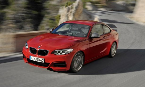 2014 BMW 2 Series top front