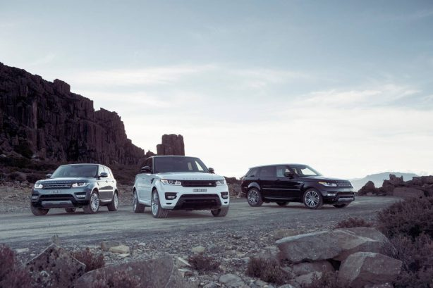 2014 Range Rover Sport lineup