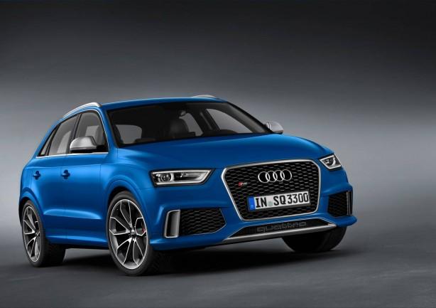 Audi RS Q3 front quarter