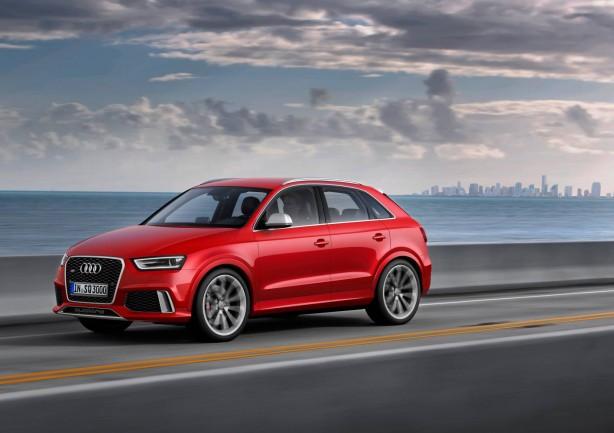 Audi RS Q3 side